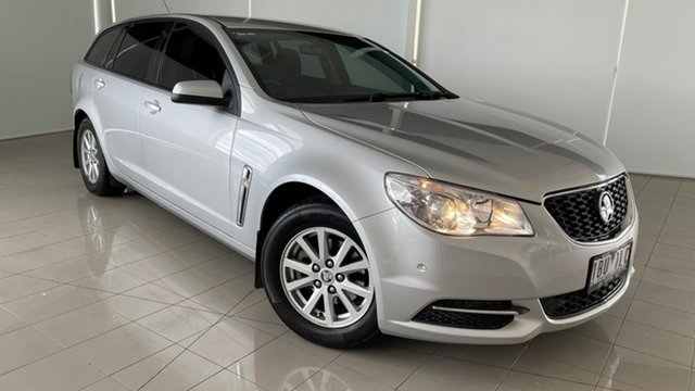 Used Holden Commodore VF MY14 Evoke Sportwagon Deer Park, 2014 Holden Commodore VF MY14 Evoke Sportwagon Silver, Chrome 6 Speed Sports Automatic Wagon