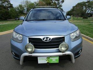 2011 Hyundai Santa Fe CM MY12 SLX CRDi (4x4) Blue 6 Speed Automatic Wagon.