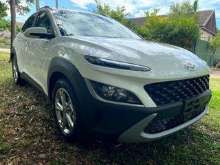 2020 Hyundai Kona Os.v4 MY21 Active 2WD Atlas White 8 Speed Constant Variable Wagon.