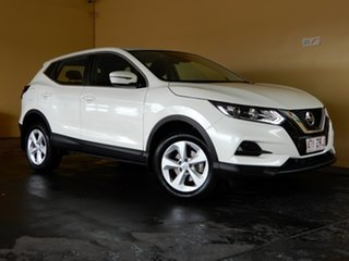 2019 Nissan Qashqai MY20 ST White Continuous Variable Wagon