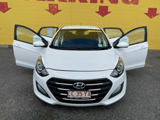 2016 Hyundai i30 GD4 Series II MY17 Active X White 6 Speed Manual Hatchback.