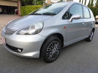 2005 Honda Jazz Upgrade GLi Silver Continuous Variable Hatchback.