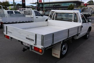 2012 Nissan Navara D22 S5 DX 4x2 White 5 Speed Manual Cab Chassis.