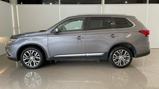 2017 Mitsubishi Outlander ZK MY17 LS 2WD Safety Pack Grey 6 Speed Constant Variable Wagon.