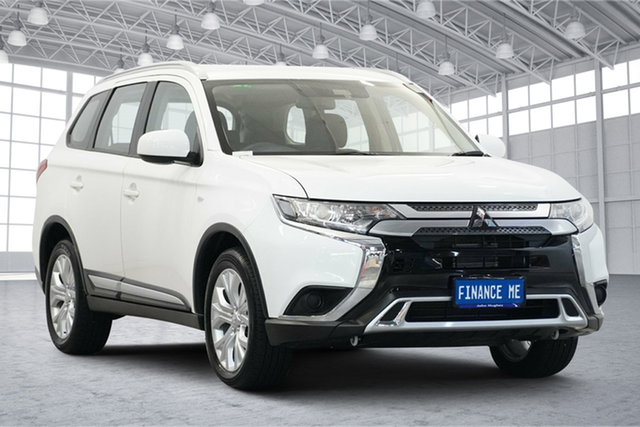 Used Mitsubishi Outlander ZL MY20 ES 2WD Victoria Park, 2020 Mitsubishi Outlander ZL MY20 ES 2WD White 6 Speed Constant Variable Wagon