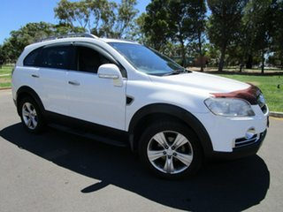 2008 Holden Captiva CG MY08 LX 60th Anniversary (4x4) White 5 Speed Automatic Wagon.