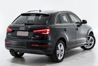 2015 Audi Q3 8U MY16 TFSI S Tronic Quattro Sport Black 7 Speed Sports Automatic Dual Clutch Wagon.