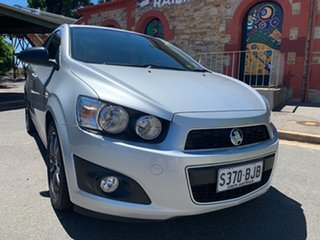 2015 Holden Barina TM MY16 X Silver 5 Speed Manual Hatchback.