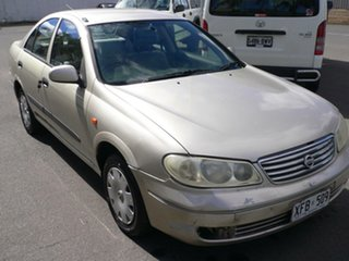 2003 Nissan Pulsar N16 LX Gold 4 Speed Automatic Sedan.