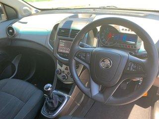 2015 Holden Barina TM MY16 X Silver 5 Speed Manual Hatchback