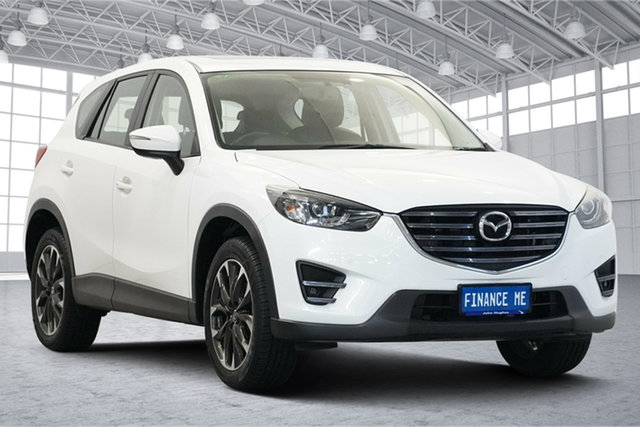 Used Mazda CX-5 KE1032 Grand Touring SKYACTIV-Drive AWD Victoria Park, 2015 Mazda CX-5 KE1032 Grand Touring SKYACTIV-Drive AWD White 6 Speed Sports Automatic Wagon