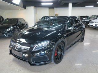2015 Mercedes-Benz GLA-Class X156 805+055MY GLA45 AMG SPEEDSHIFT DCT 4MATIC Cosmos Black 7 Speed