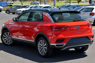 2020 Volkswagen T-ROC A1 MY21 110TSI Style Red 8 Speed Sports Automatic Wagon.