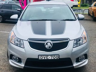 2014 Holden Cruze JH Series II MY14 SRi Z Series Silver, Chrome 6 Speed Sports Automatic Hatchback