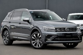 2020 Volkswagen Tiguan 5N MY21 162TSI Highline DSG 4MOTION Allspace Grey 7 Speed.