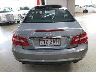 2009 Mercedes-Benz E-Class C207 E350 7G-Tronic Avantgarde Silver 7 Speed Sports Automatic Coupe