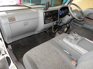 2004 Kia K2700 TU White 5 Speed Manual Cab Chassis.