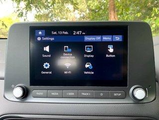 2020 Hyundai Kona Os.v4 MY21 Active 2WD Atlas White 8 Speed Constant Variable Wagon