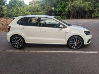 2015 Volkswagen Polo 6R MY15 GTi White 6 Speed Manual Hatchback.