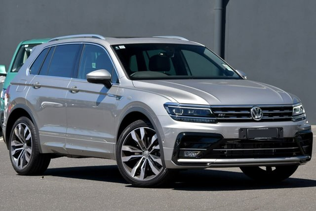 Demo Volkswagen Tiguan 5N MY20 162TSI DSG 4MOTION Highline Moorabbin, 2020 Volkswagen Tiguan 5N MY20 162TSI DSG 4MOTION Highline Silver 7 Speed