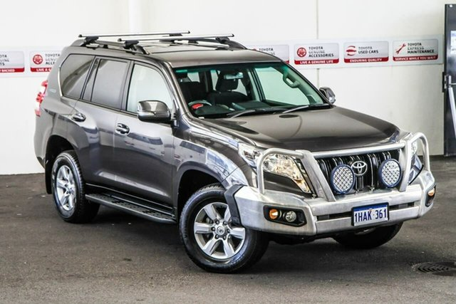 Pre-Owned Toyota Landcruiser Prado GDJ150R MY16 GXL (4x4) Myaree, 2015 Toyota Landcruiser Prado GDJ150R MY16 GXL (4x4) Graphite 6 Speed Automatic Wagon