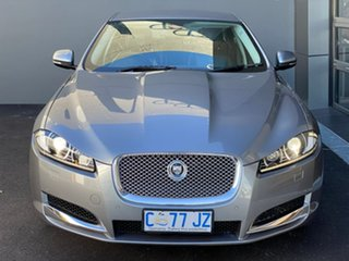 2011 Jaguar XF X250 MY12 Luxury Grey 8 Speed Sports Automatic Sedan.