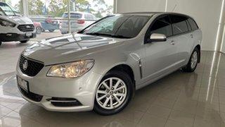 2014 Holden Commodore VF MY14 Evoke Sportwagon Silver, Chrome 6 Speed Sports Automatic Wagon