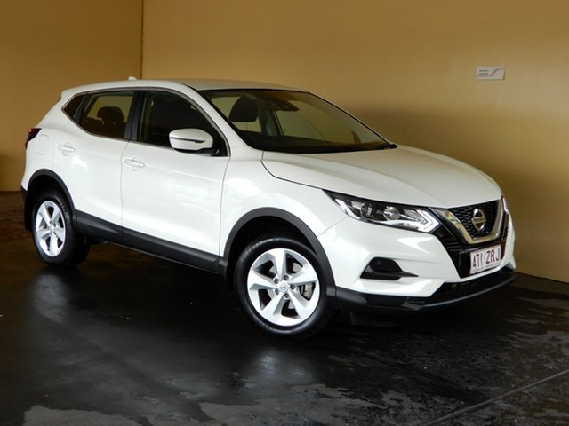 Used Nissan Qashqai MY20 ST Toowoomba, 2019 Nissan Qashqai MY20 ST White Continuous Variable Wagon