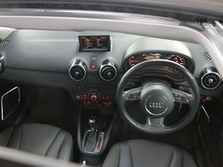 2011 Audi A1 8X MY11 Ambition S Tronic Black 7 Speed Sports Automatic Dual Clutch Hatchback