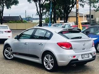 2014 Holden Cruze JH Series II MY14 SRi Z Series Silver, Chrome 6 Speed Sports Automatic Hatchback.