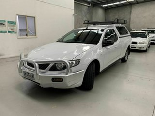 2009 Ford Falcon FG Ute Super Cab White 4 Speed Automatic Utility