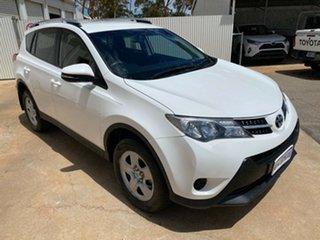 2014 Toyota RAV4 ZSA42R MY14 GX 2WD Glacier White 7 Speed Constant Variable Wagon.
