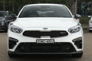 2019 Kia Cerato BD MY20 GT Safety Pack White 7 Speed Auto Dual Clutch Sedan