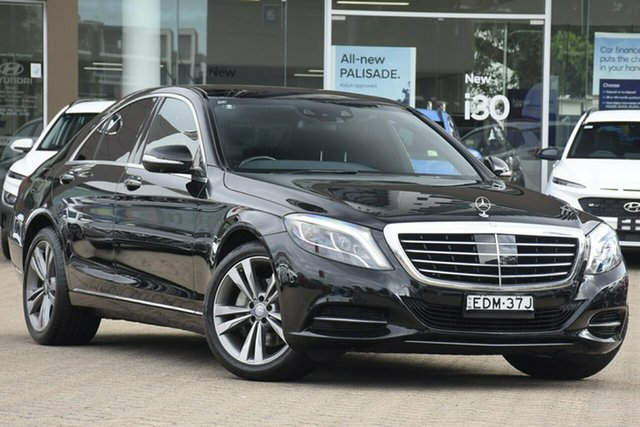 Used Mercedes-Benz S350 222 MY15 CDI BlueTEC Rosebery, 2015 Mercedes-Benz S350 222 MY15 CDI BlueTEC Black 7 Speed Automatic G-Tronic Sedan