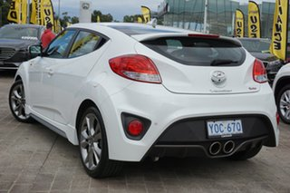 2016 Hyundai Veloster FS5 Series II SR Coupe D-CT Turbo White 7 Speed Sports Automatic Dual Clutch