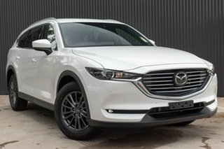 2020 Mazda CX-8 KG2WLA Touring SKYACTIV-Drive FWD Snowflake White Pearl 6 Speed Sports Automatic.