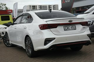 2019 Kia Cerato BD MY20 GT Safety Pack White 7 Speed Auto Dual Clutch Sedan.