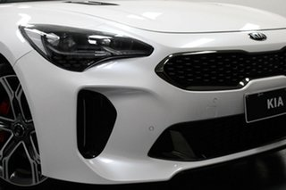 2018 Kia Stinger CK MY18 GT Fastback White 8 Speed Sports Automatic Sedan.