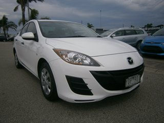 2011 Mazda 3 BL10F1 MY10 Neo Activematic White 5 Speed Sports Automatic Sedan.