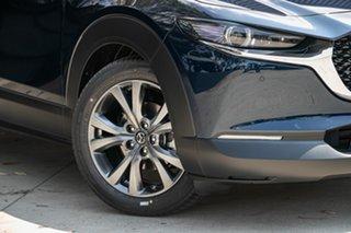 2020 Mazda CX-30 DM4WLA X20 SKYACTIV-Drive i-ACTIV AWD Astina Deep Crystal Blue 6 Speed.
