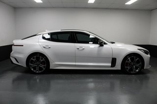 2018 Kia Stinger CK MY18 GT Fastback White 8 Speed Sports Automatic Sedan