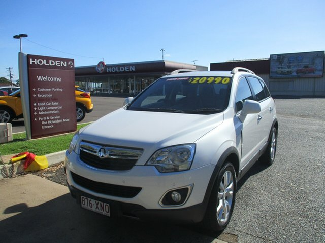 Used Holden Captiva CG MY14 5 LTZ North Rockhampton, 2014 Holden Captiva CG MY14 5 LTZ White 6 Speed Sports Automatic Wagon
