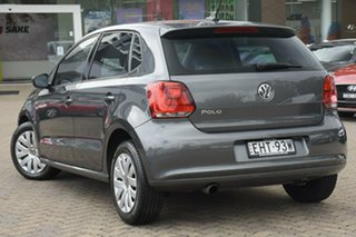 2013 Volkswagen Polo 6R MY14 Trendline DSG Grey 7 Speed Sports Automatic Dual Clutch Hatchback.