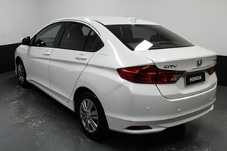 2016 Honda City GM MY16 VTi White 5 Speed Manual Sedan