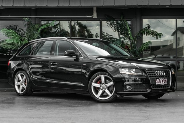 Used Audi A4 B8 8K MY10 Avant Multitronic Bowen Hills, 2010 Audi A4 B8 8K MY10 Avant Multitronic Black 8 Speed Constant Variable Wagon