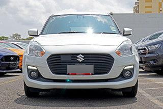 2020 Suzuki Swift AZ Series II GL Navigator Plus White 1 Speed Constant Variable Hatchback.