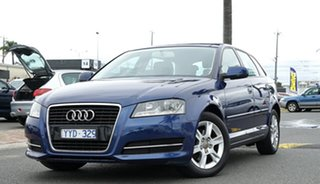 2011 Audi A3 8P MY12 Attraction Sportback S Tronic Dark Blue 7 Speed Sports Automatic Dual Clutch
