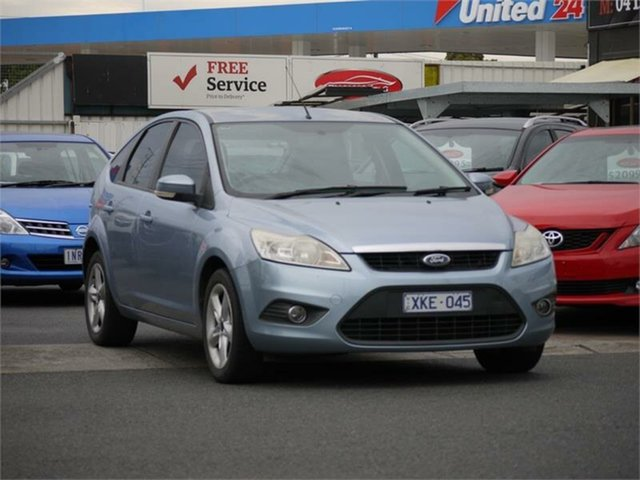 Used Ford Focus LV LX Cheltenham, 2009 Ford Focus LV LX Blue 4 Speed Sports Automatic Hatchback