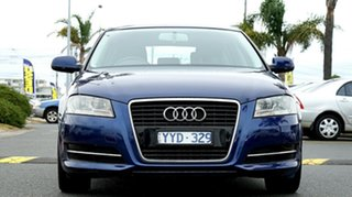 2011 Audi A3 8P MY12 Attraction Sportback S Tronic Dark Blue 7 Speed Sports Automatic Dual Clutch.