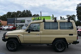 2020 Toyota Landcruiser VDJ78R Workmate Troopcarrier Sandy Taupe/vinyl 5 Speed Manual Wagon